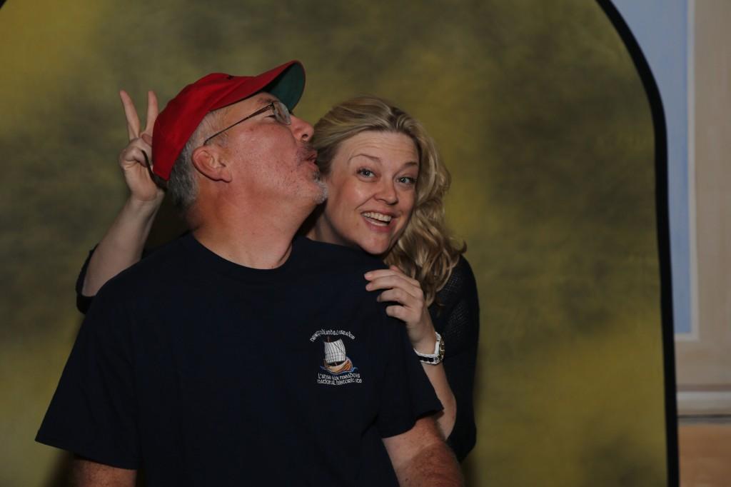Garth Watson and Liz Clark