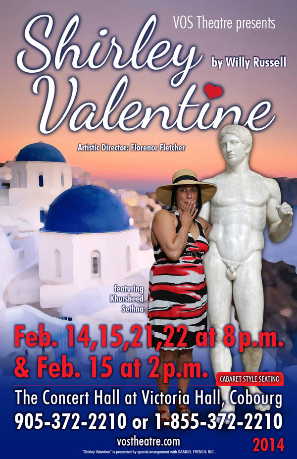 The Shirley Valentine Poster
