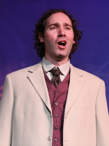 Joel as Curly in Oklahoma!