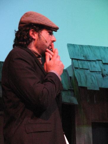 Joel Varty as Motel in Fiddler on the Roof