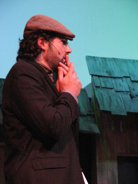 Joel Varty as Motel in Fiddler on the Roof