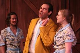 Joel Varty in White Christmas with Jenn Appleman and Samantha Clark