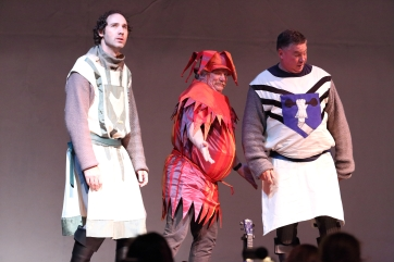 Joel Varty as Robin in Spamalot