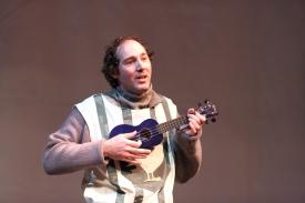 Joel Varty as Robin in Spamalot