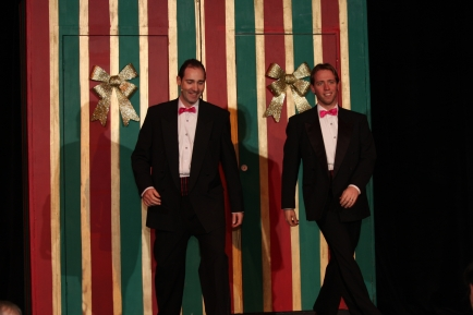 Joel Varty and Sean Winchester in White Christmas