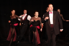 Joel Varty and friends in White Christmas