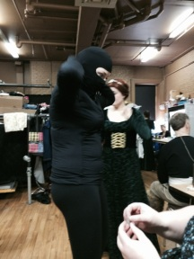 Puppet Ninja Suiting Up