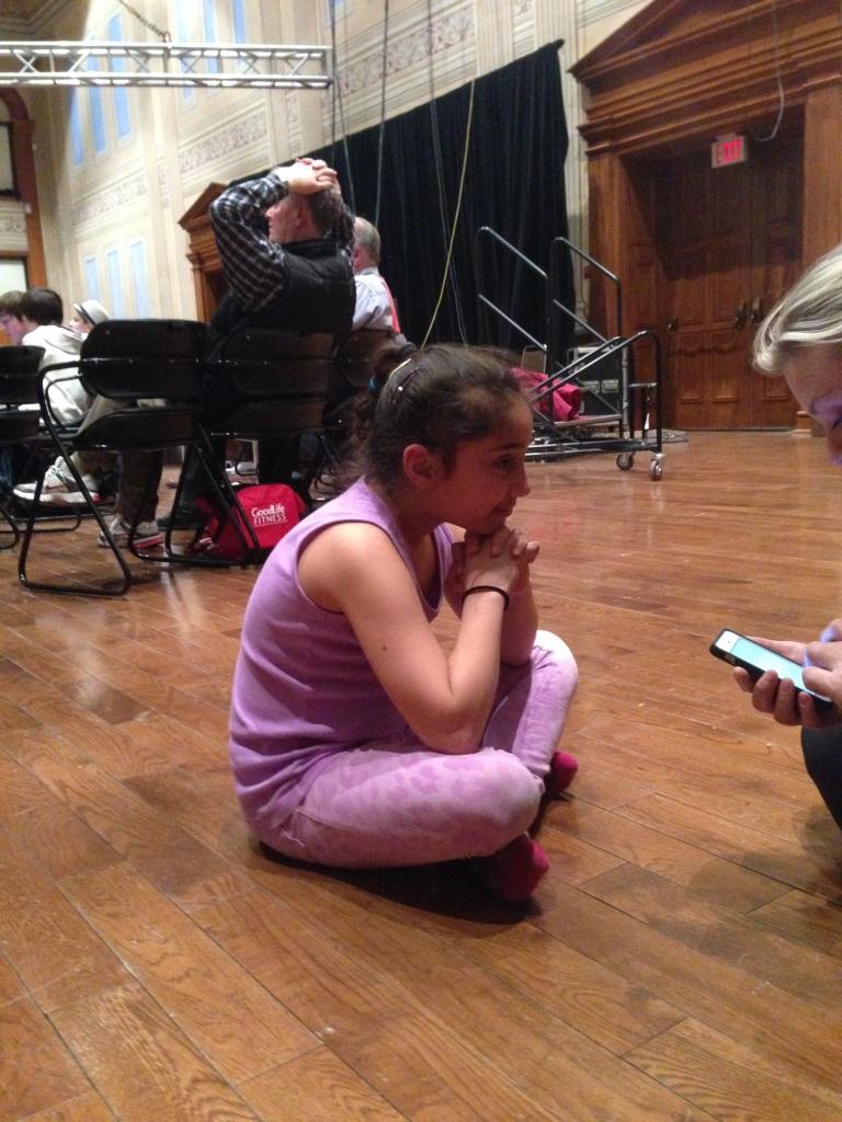 Alexia talk with Producer Liz Clark