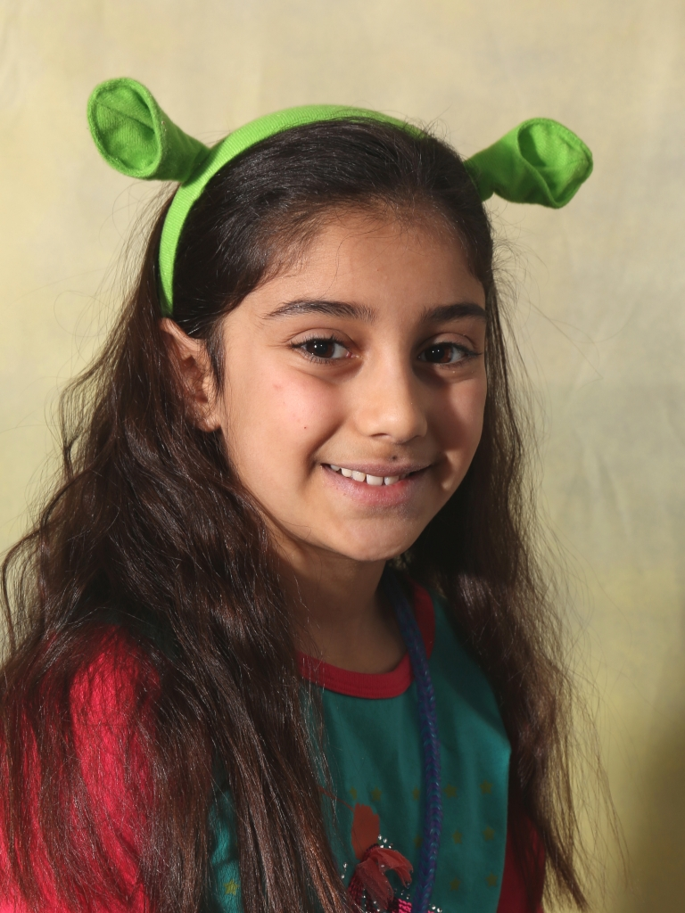 Alexia plays Young Fiona and Baby Bear in Shrek the Musical