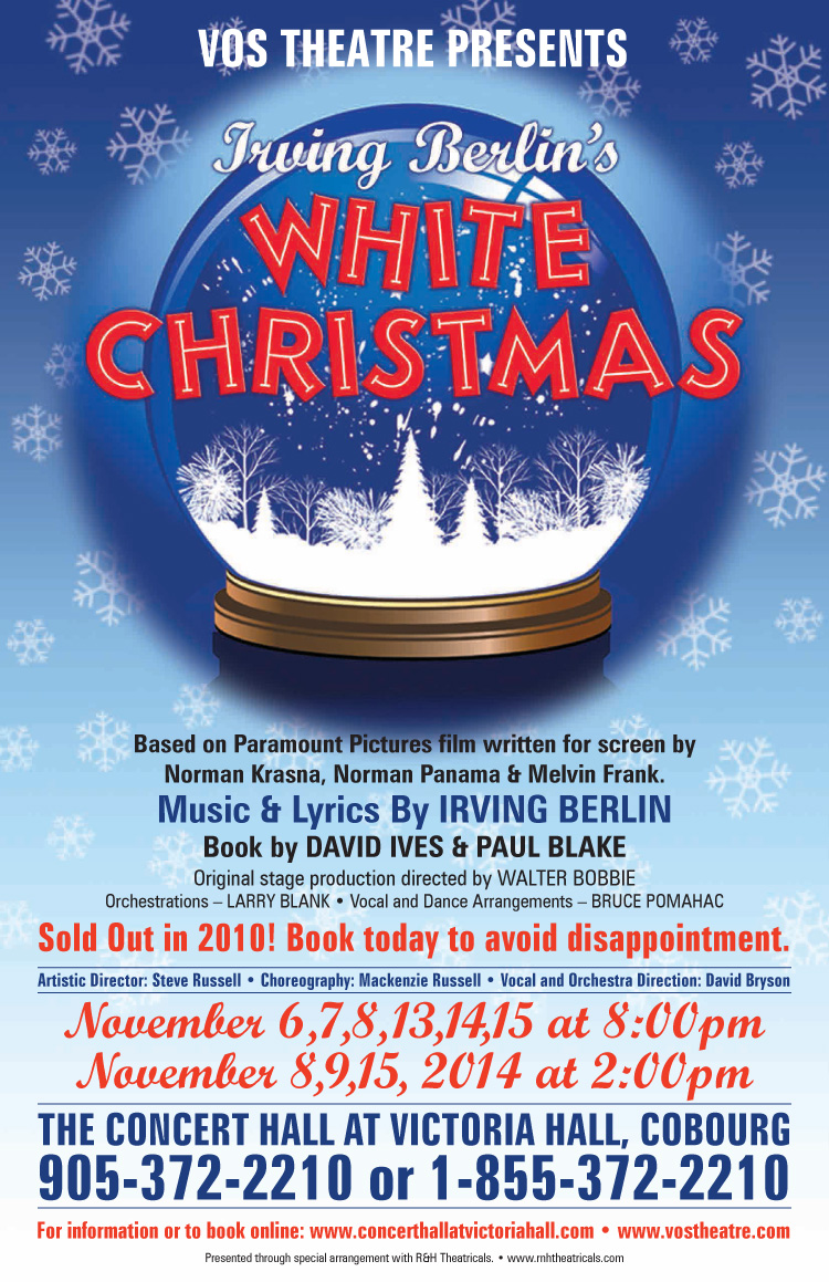Presenting… the cast of WhiteChristmas!