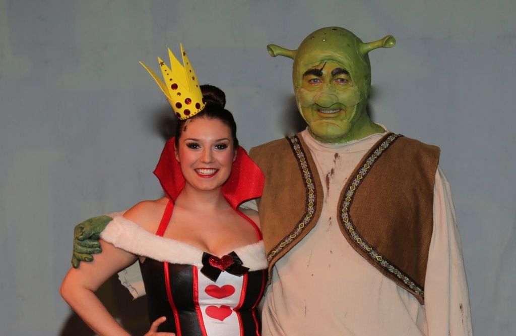 Mackenzie & Steve Russell from Shrek the Musical