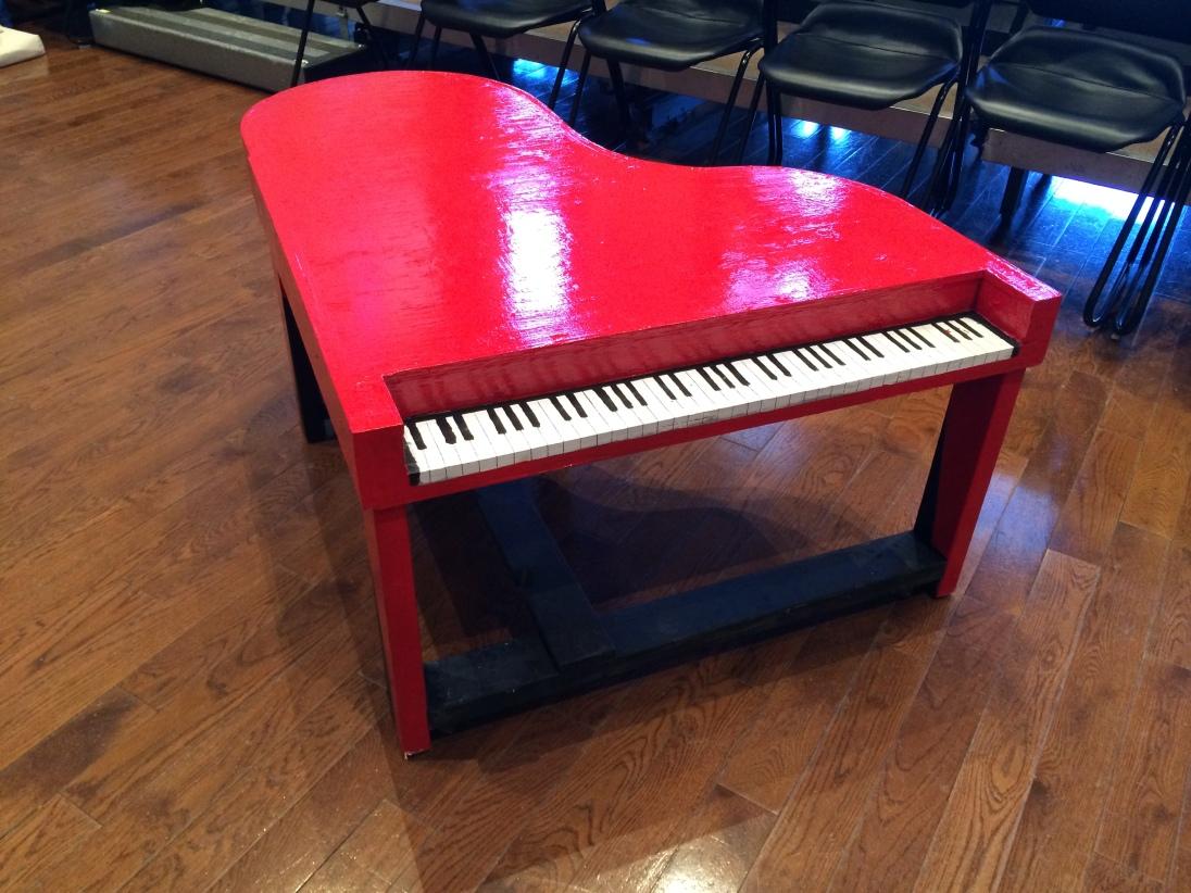 I love a piano.