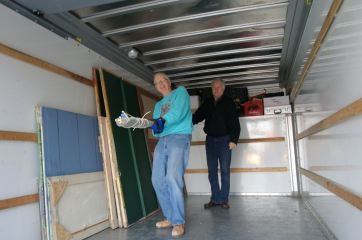 Alan and Bob in a Van.