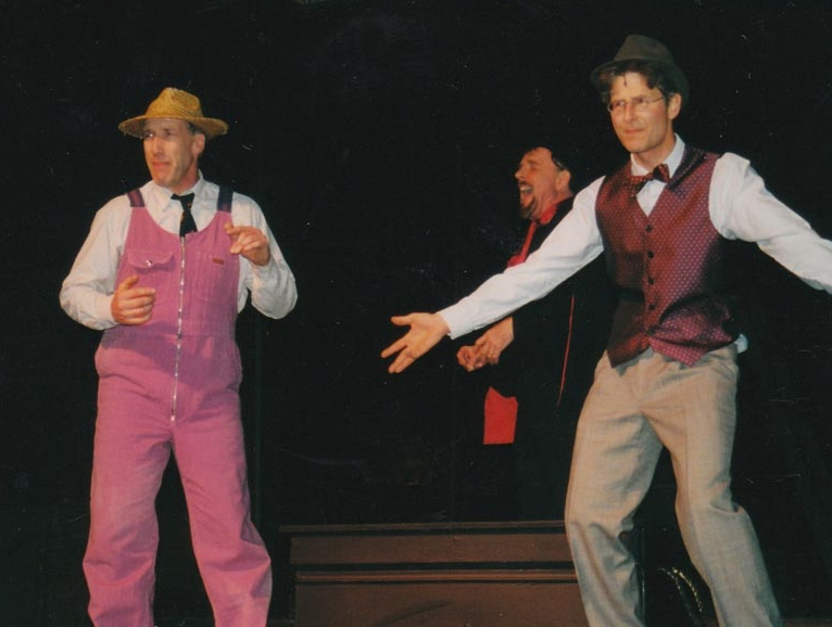 Hugh in the VOS Production of The Fantasticks