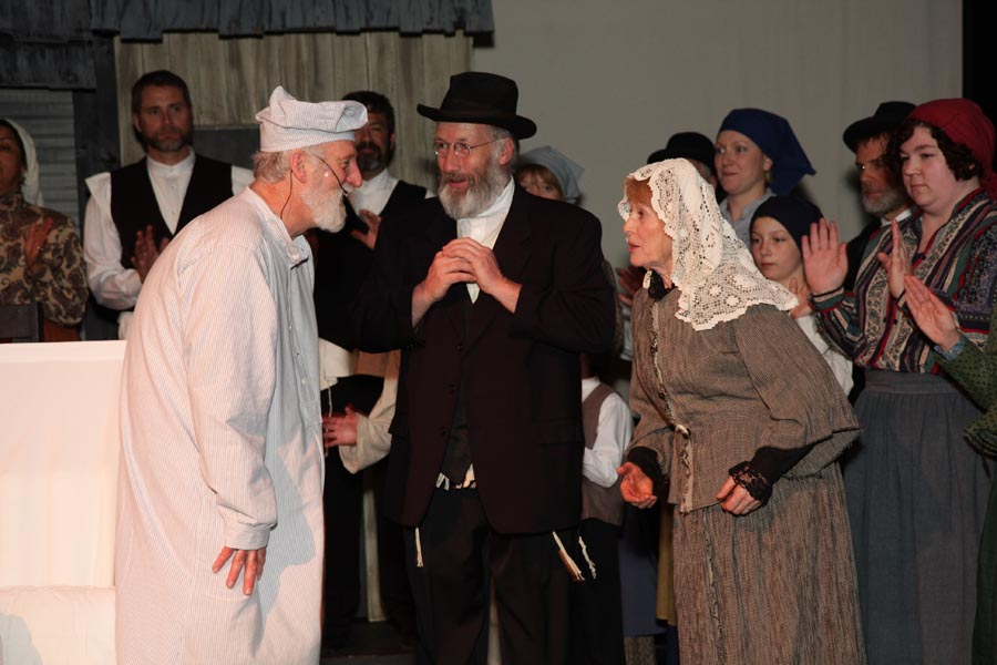 Hugh as the Rabi in the VOS Production of Fiddler on the Roof