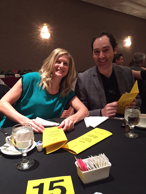 Joel Varty and Angela Main