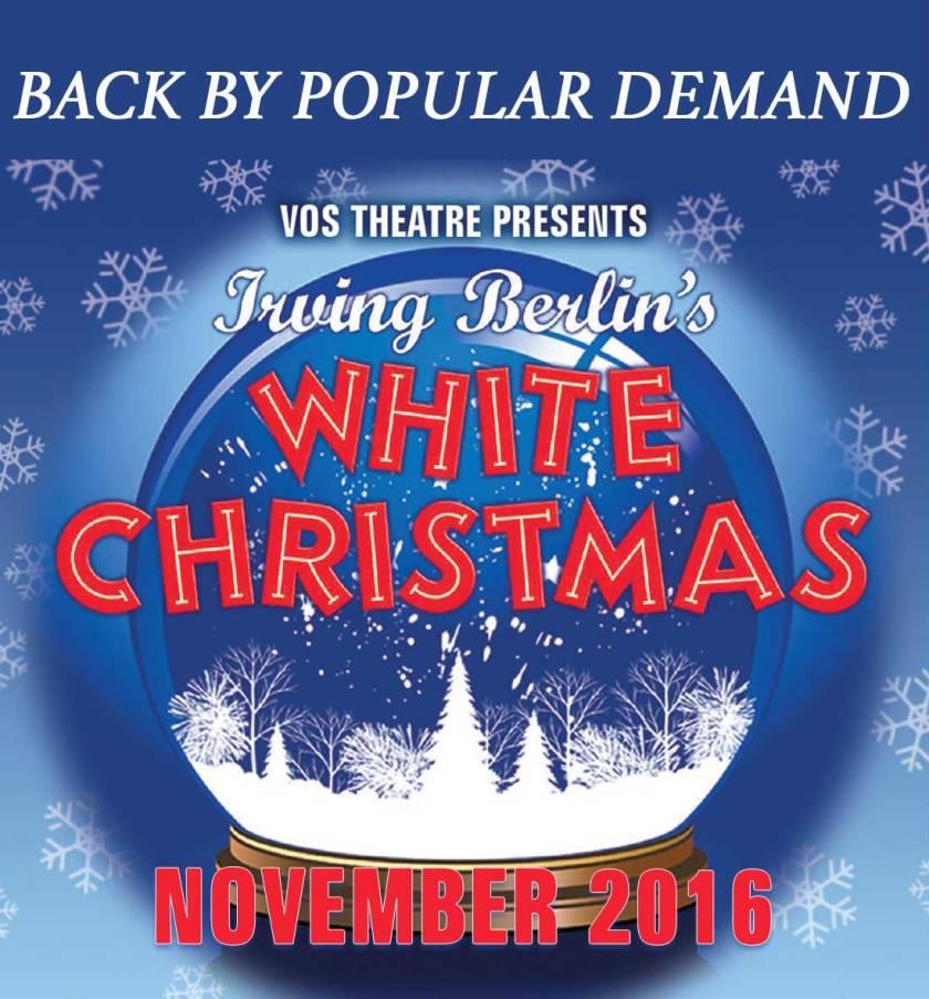 VOS Theatre presents WHITE CHRISTMAS