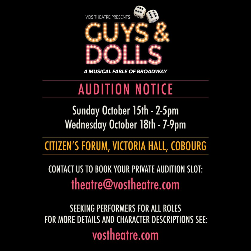 Guys-and-Dolls-Audition-Notice