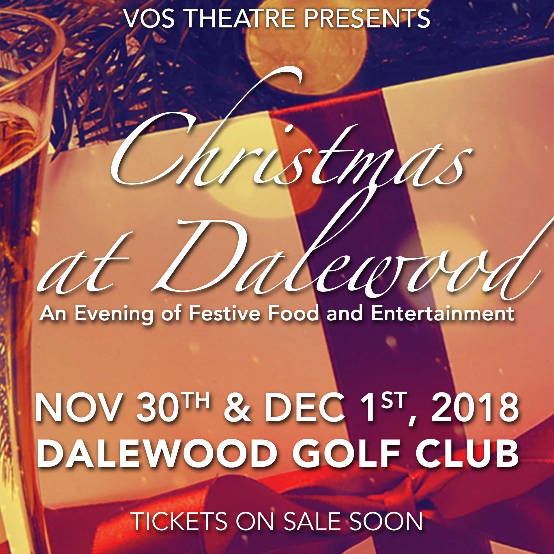 VOS Theatre Presents - Christmas at Dalewood - Nov 30-Dec 1