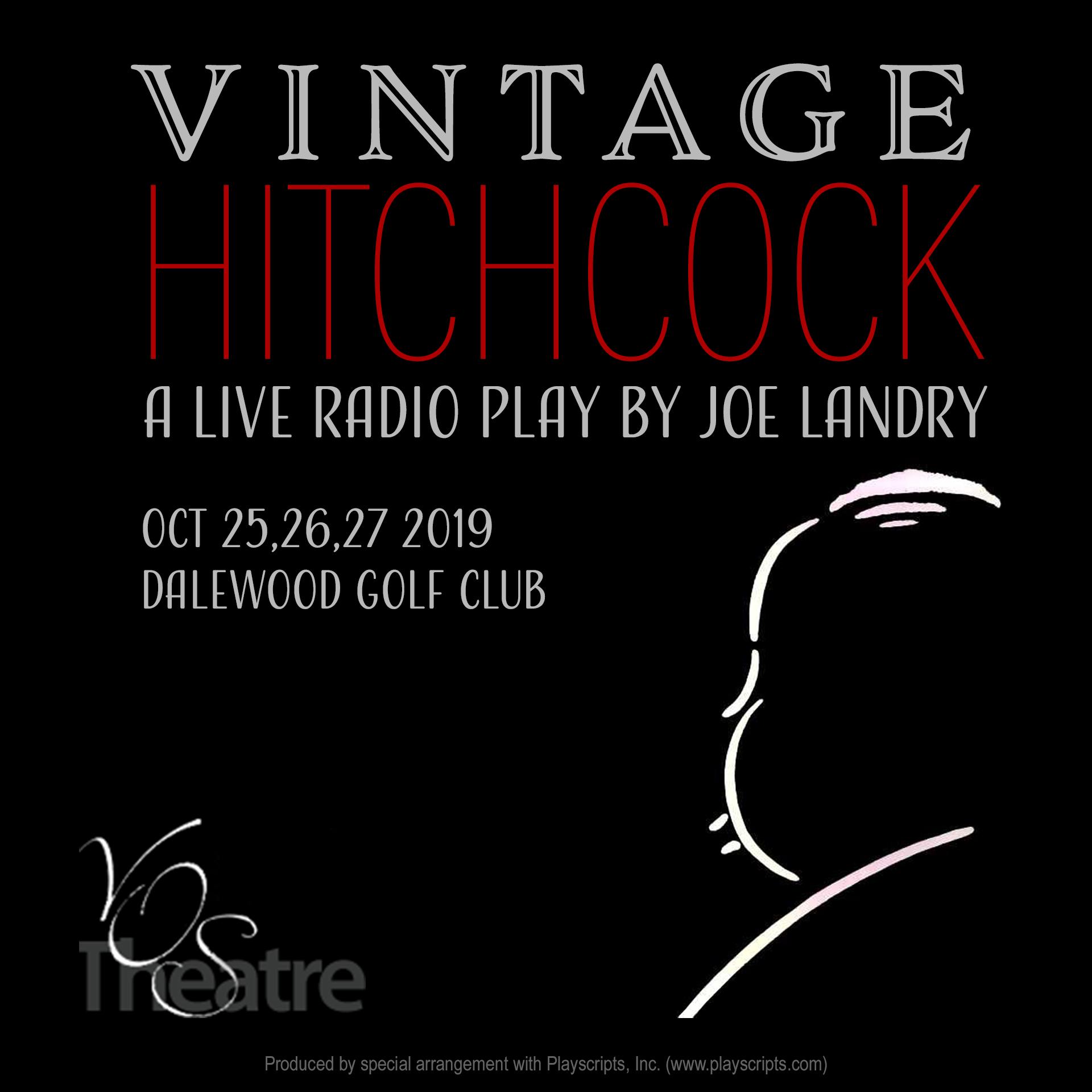 Vintage Hitchcock - A Live Radio Play