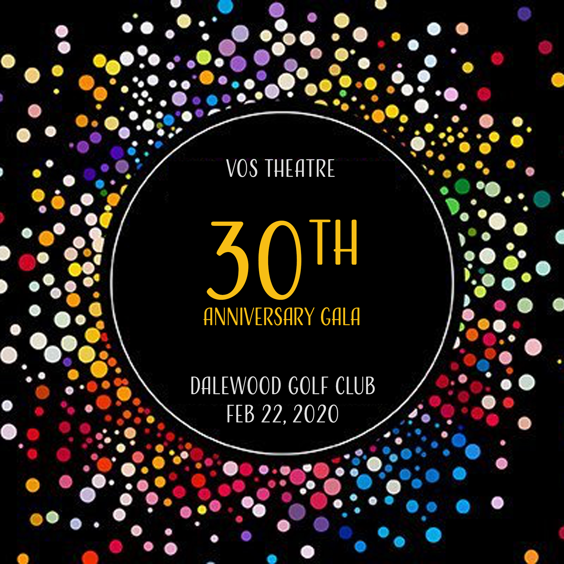 VOS Theatre 30th Anniversary Gala